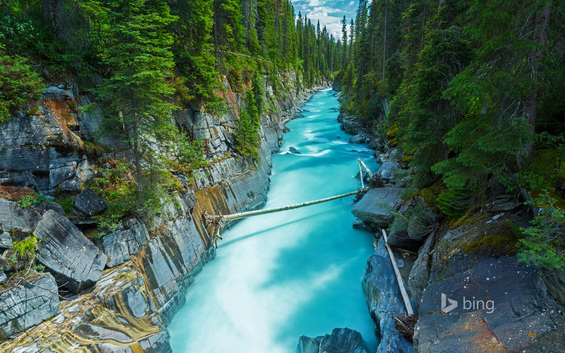 Hình nền đẹp từ Bing chủ đề thác nước