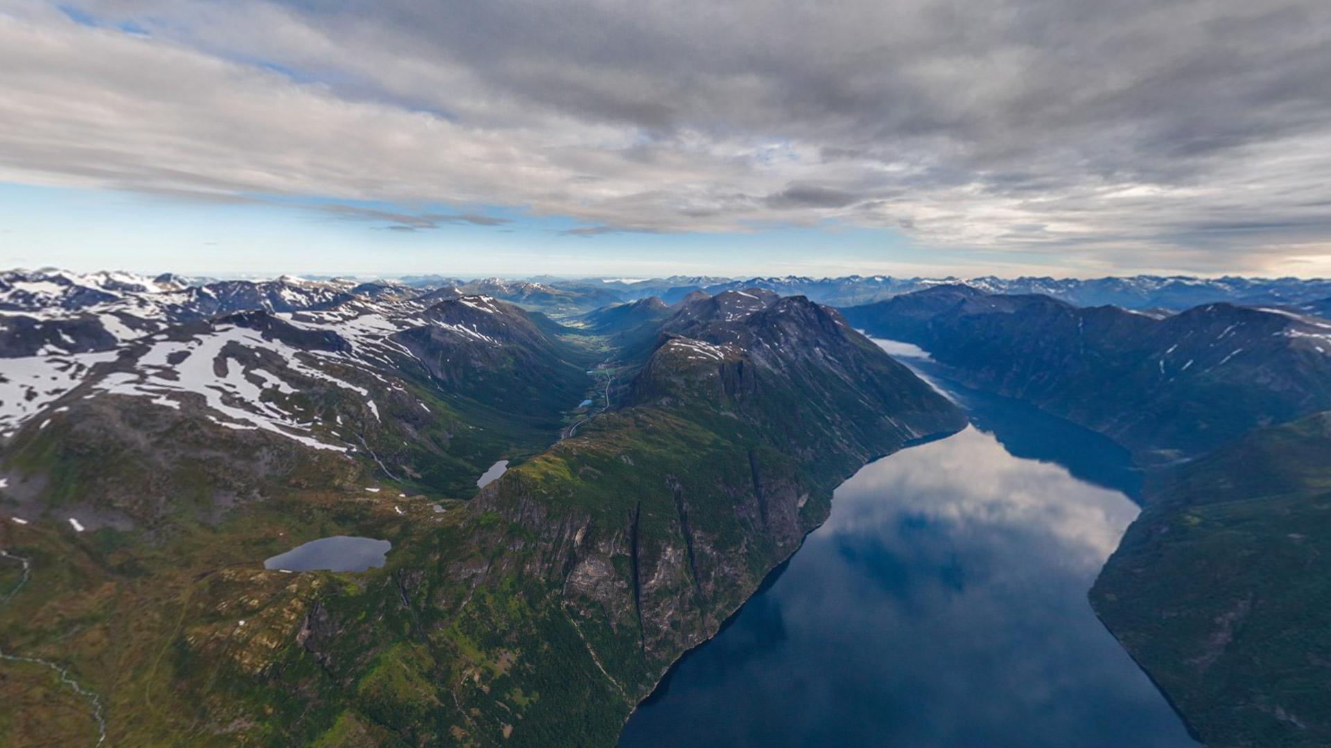 Hình nền thiên nhiên đẹp từ Bing