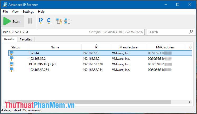 Top 5 công cụ Scan IP trong mạng LAN tốt nhất