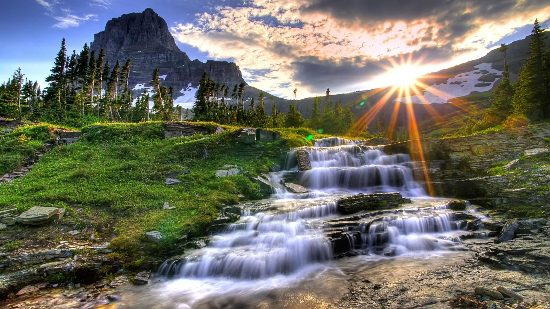 Top Tổng hợp hình nền thác nước cực đẹp