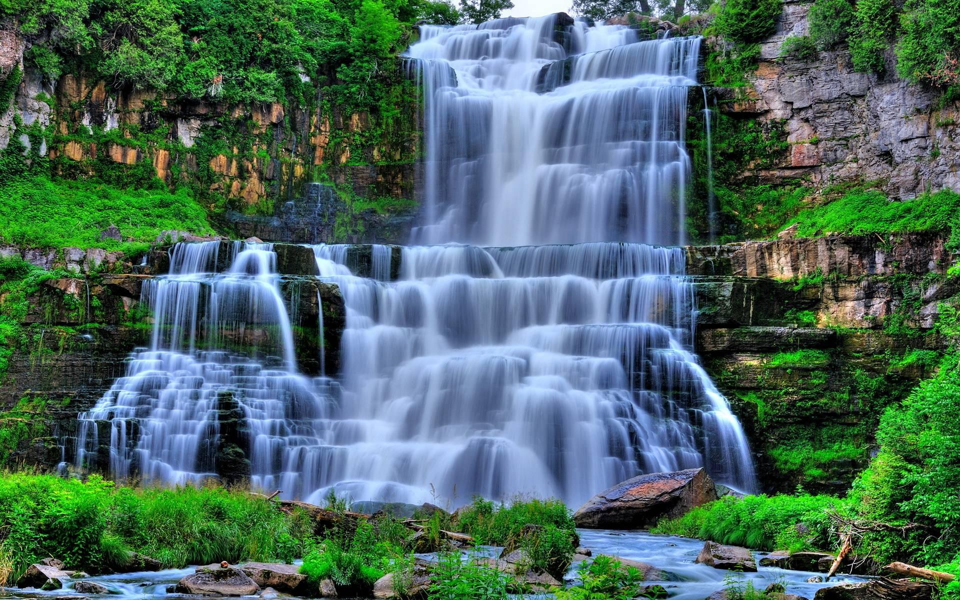 Ảnh nền thác nước cực đẹp (2)