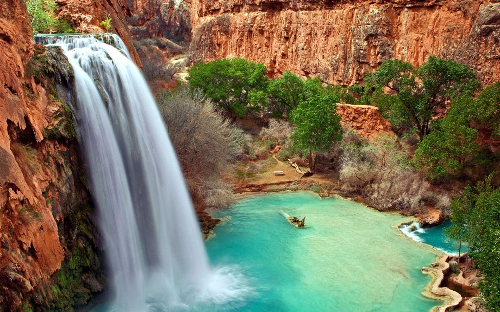 Ảnh nền thác nước cực đẹp