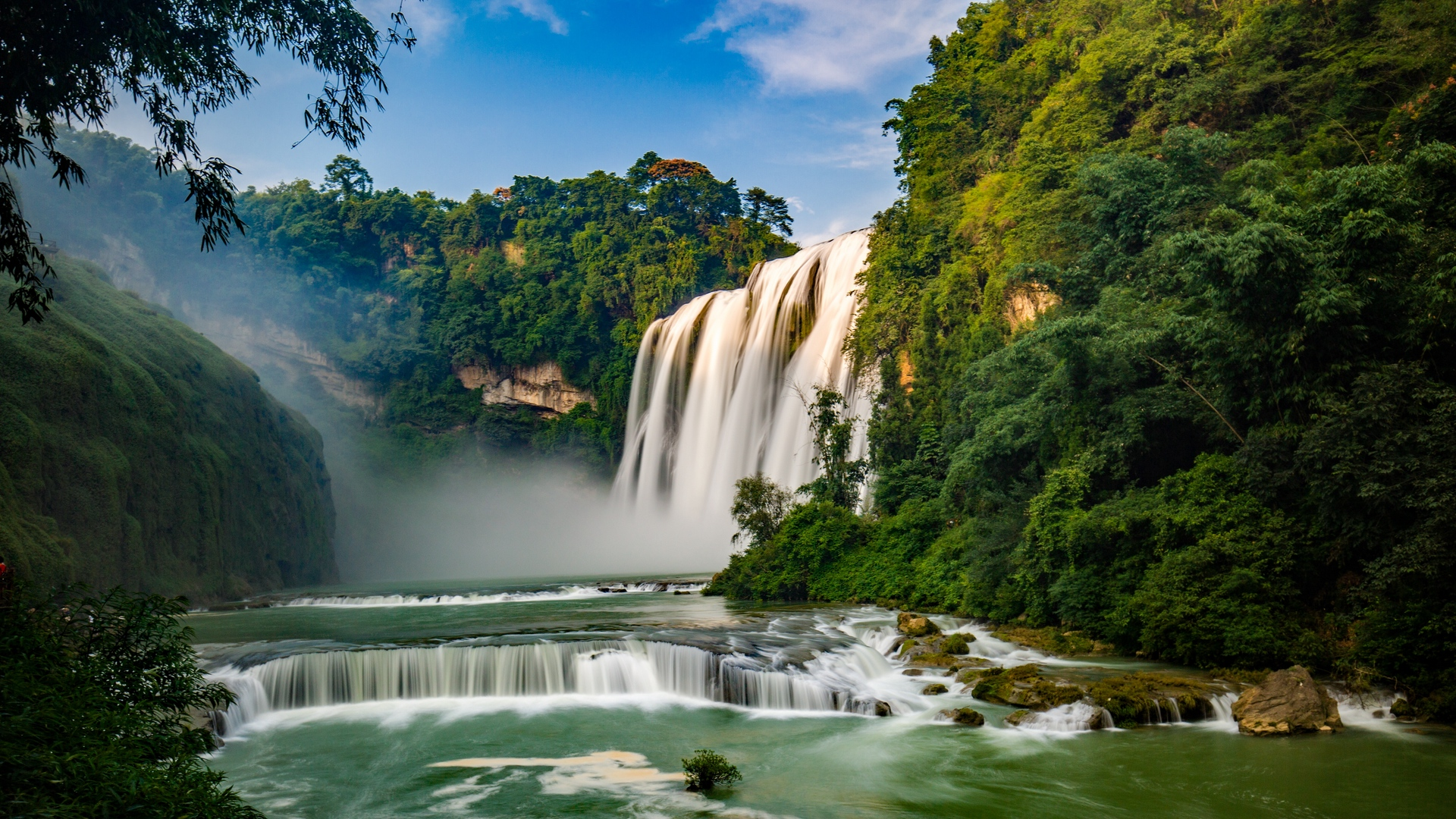 Ảnh nền thác nước đẹp nhất