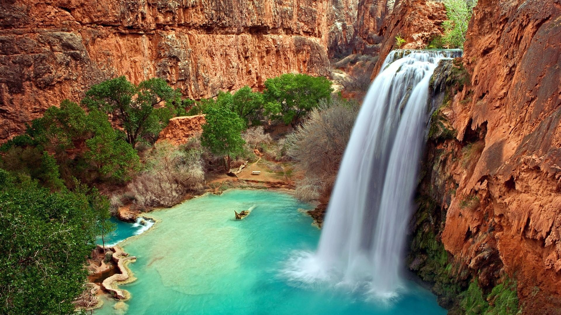 Hình ảnh nền thác nước (2)