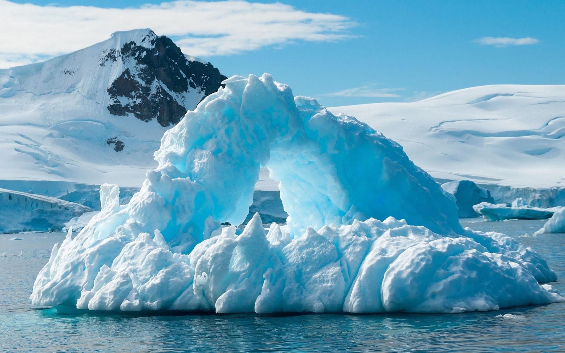 Hình nền băng tuyết mùa đông