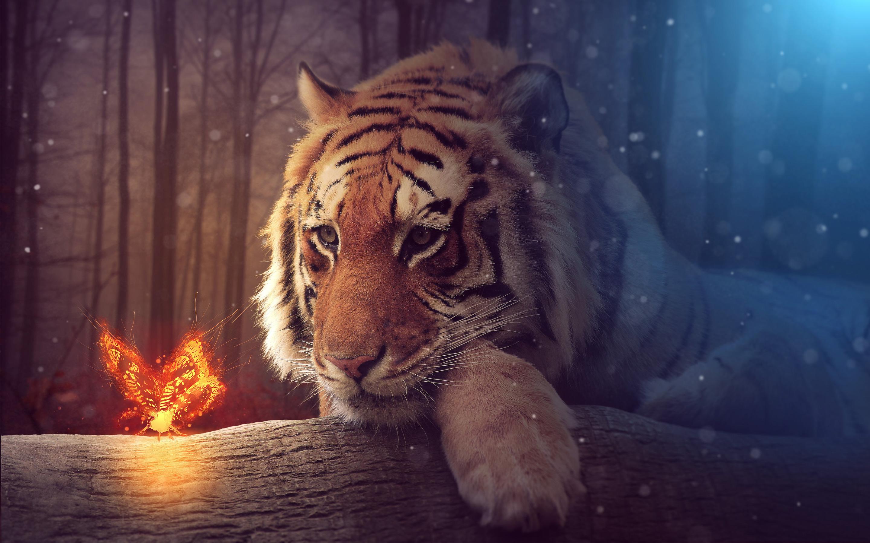 Hình nền con hổ 3D