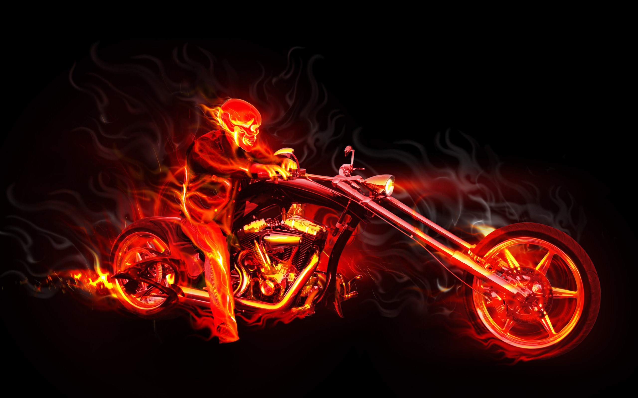 Hình nền lửa 3d