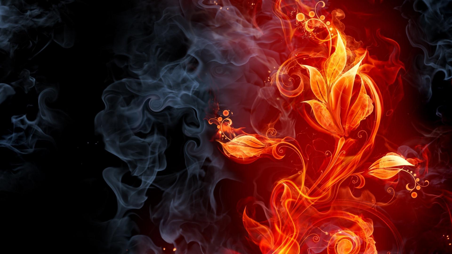Hình nền lửa hd
