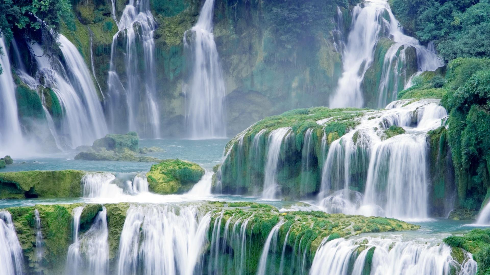 Hình nền máy tính thác nước cực đẹp