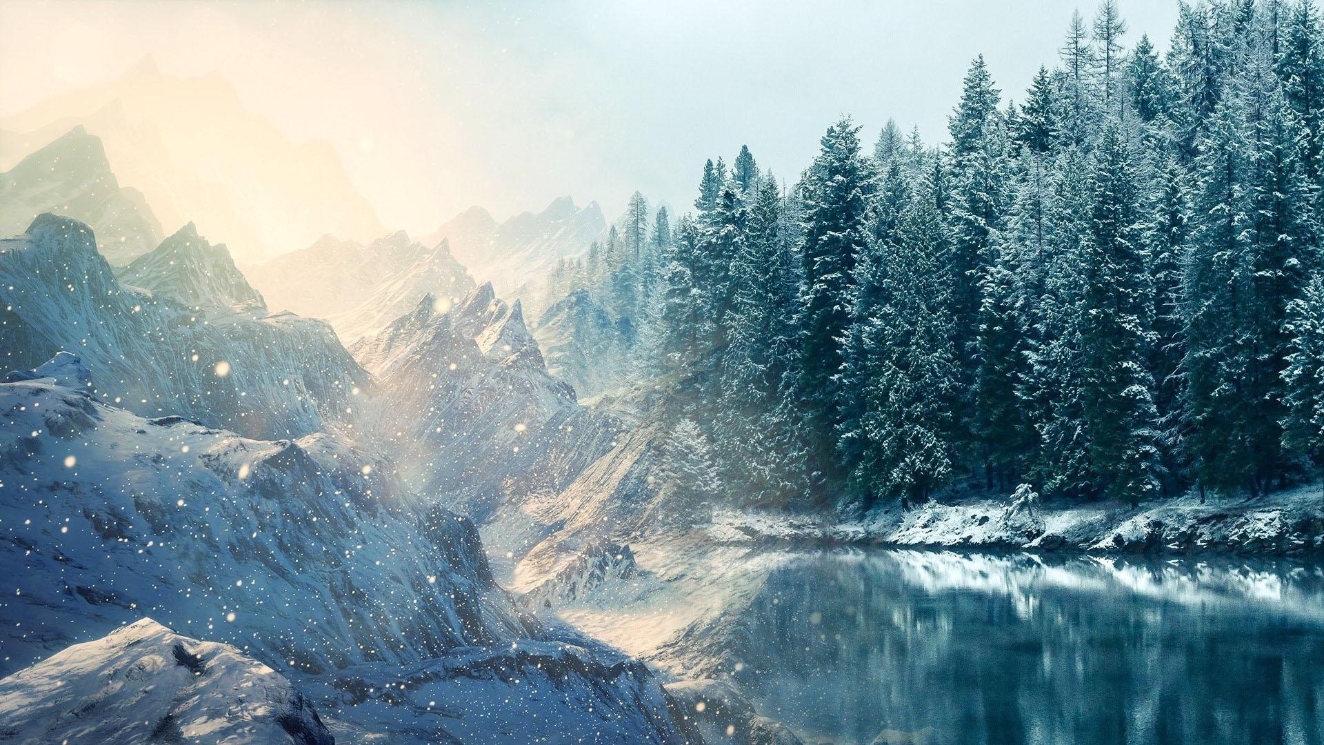 Hình nền mùa đông đẹp dành cho PC