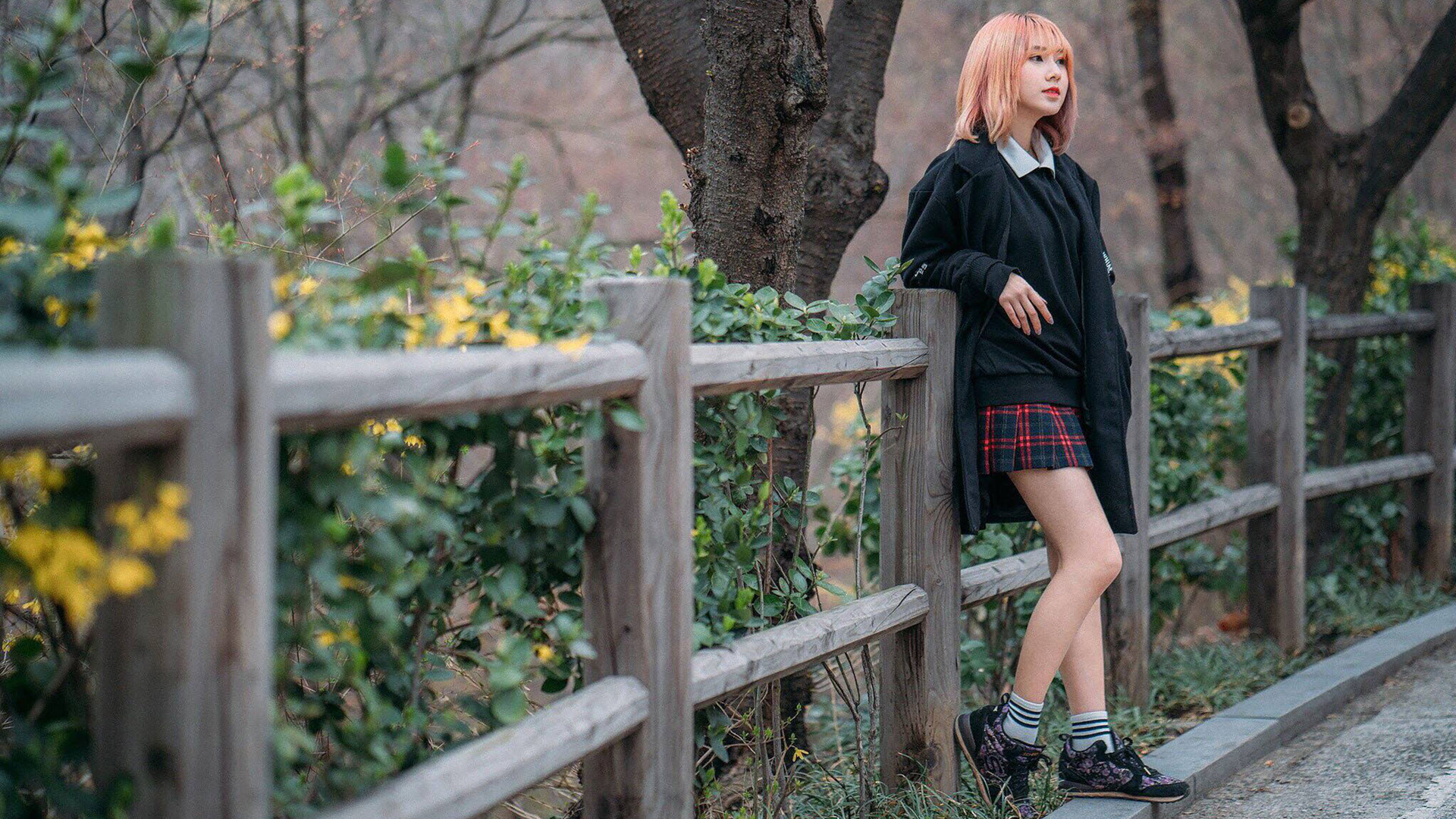 Hình nền nữ sinh hotgirl châu á