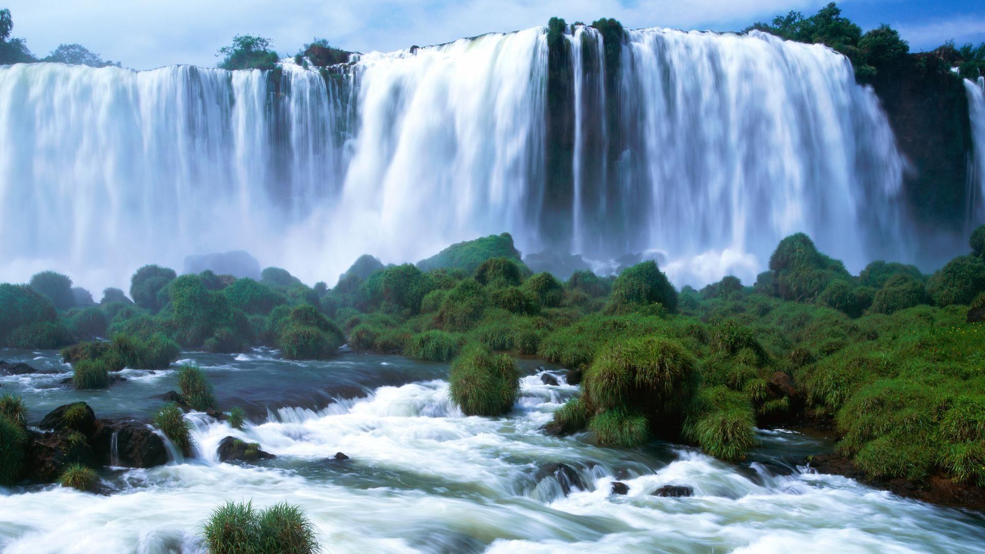 Hình nền phong cảnh thác nước đẹp
