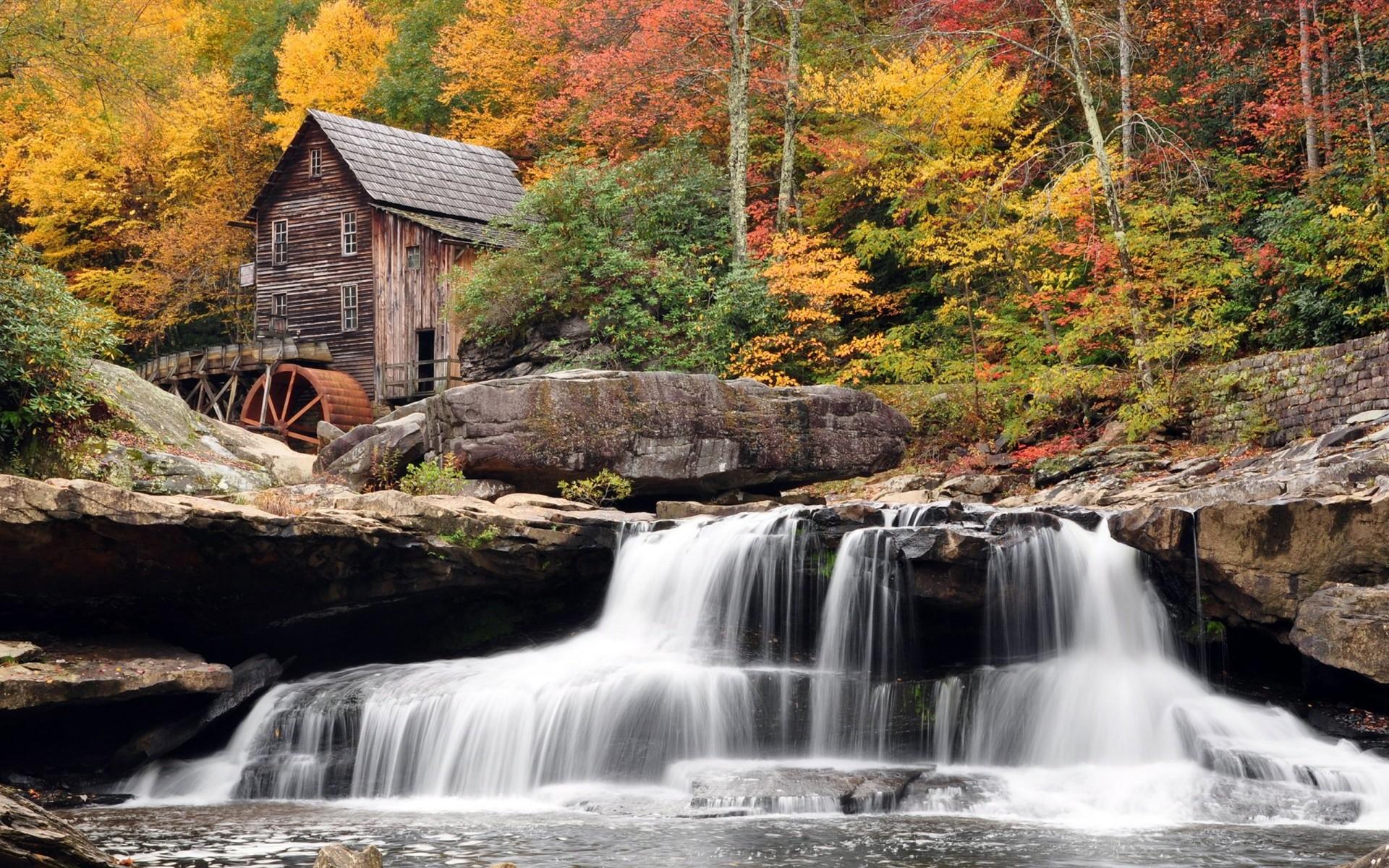 Hình nền thác nước cực đẹp