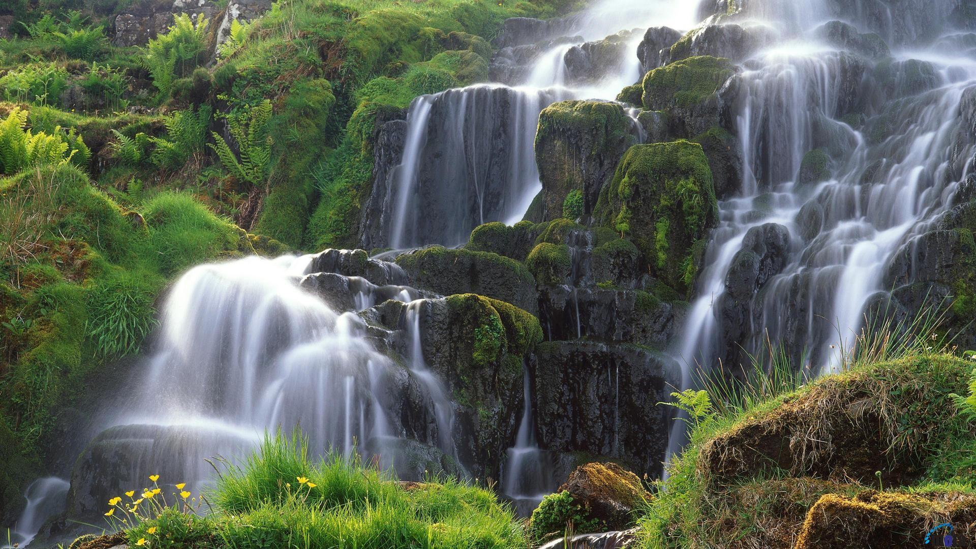 Hình nền thác nước hùng vĩ cực đẹp