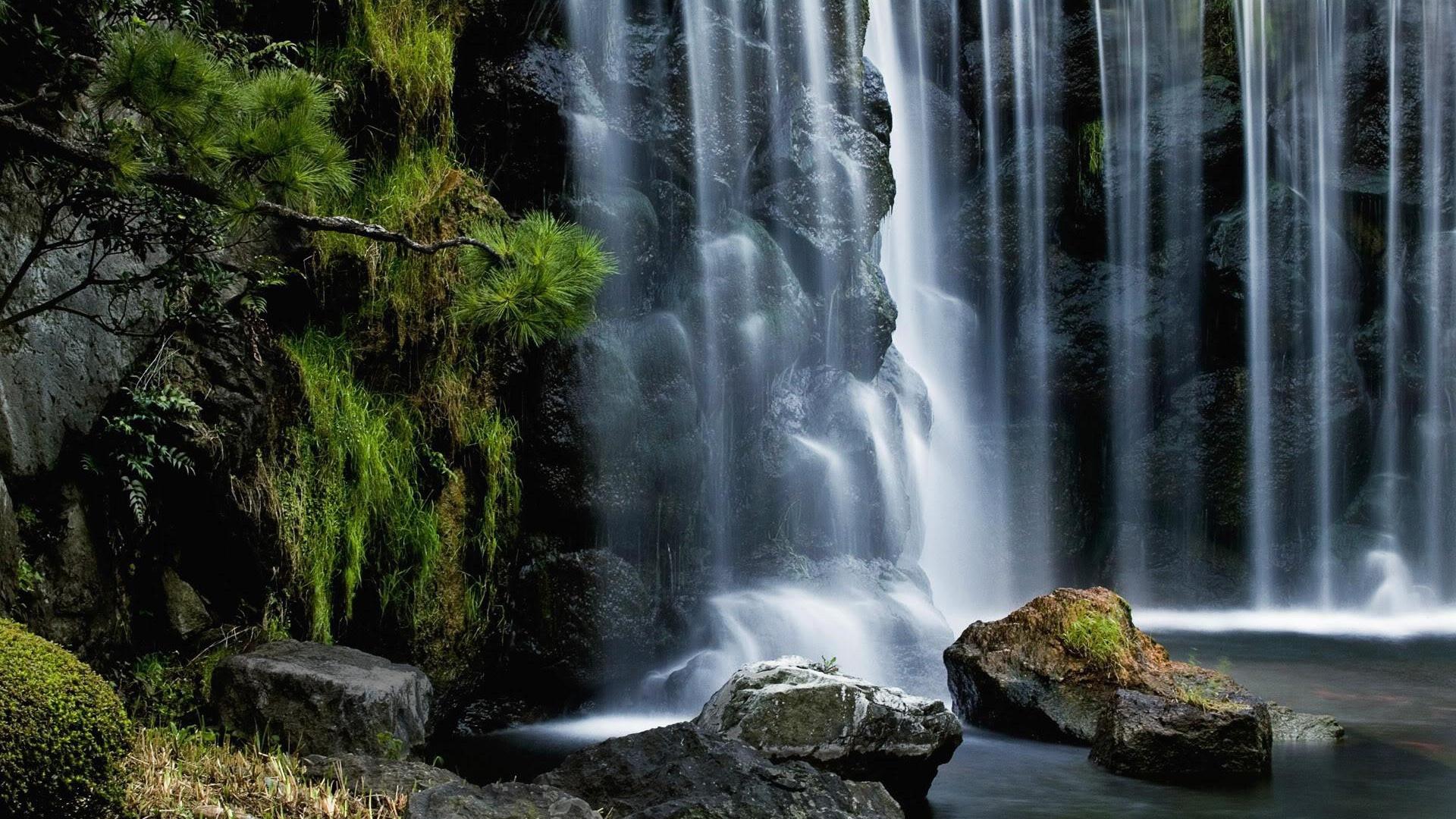 Hình nền thác nước hùng vĩ