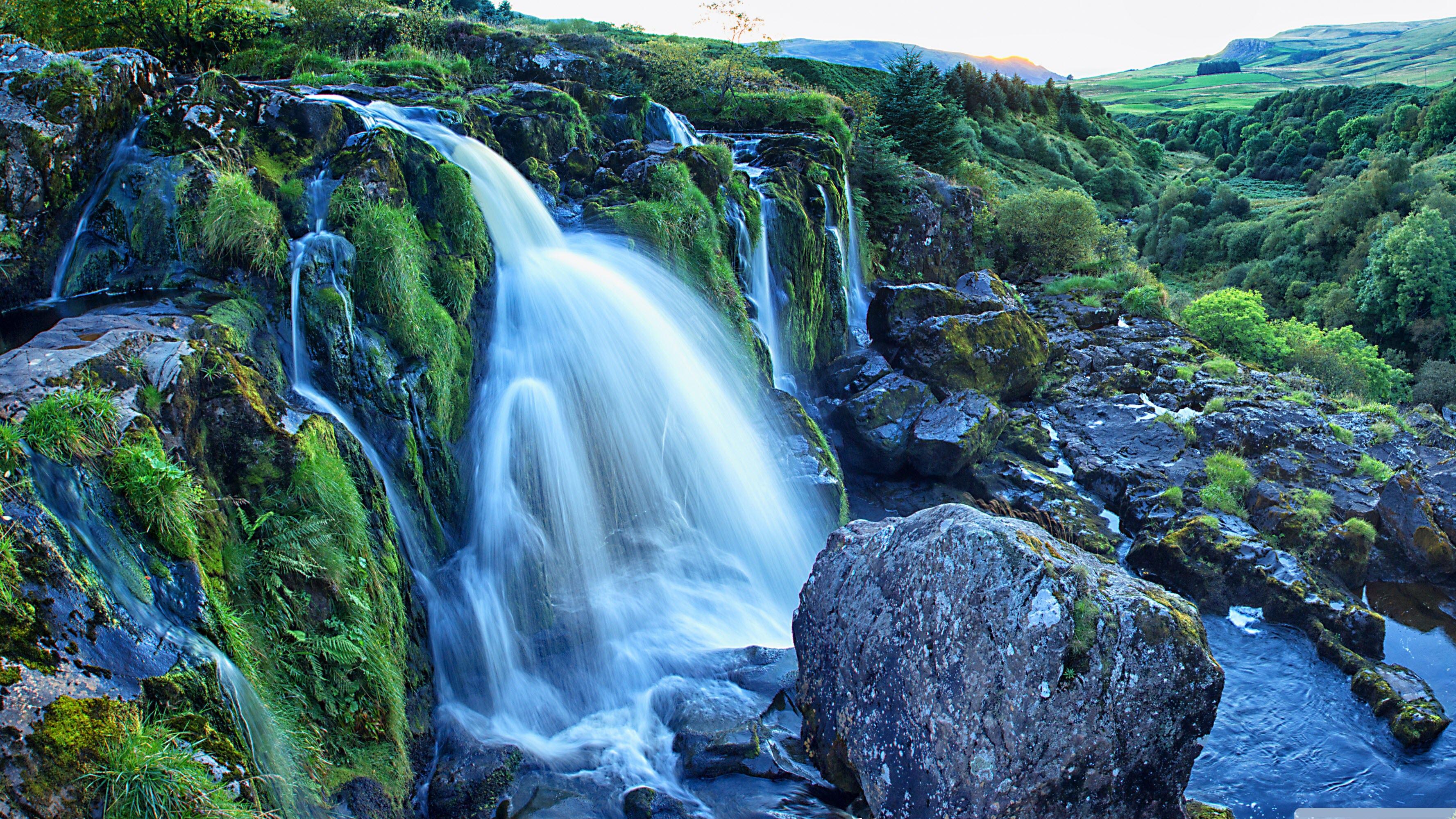 Hình nền thác nước