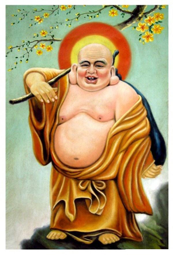 Ảnh Đức Phật Di Lặc cười đẹp