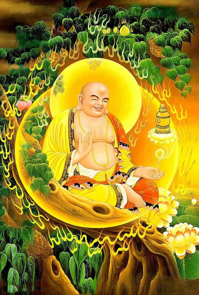 Ảnh tượng Phật Di Lặc đẹp nhất