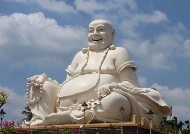 Hình ảnh Đức Phật Di Lặc cực đẹp