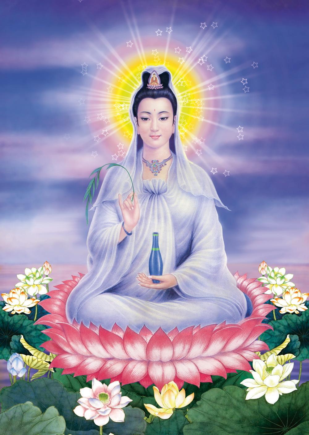 Hình ảnh Đức Phật Quan Thế Âm Bồ Tát đẹp
