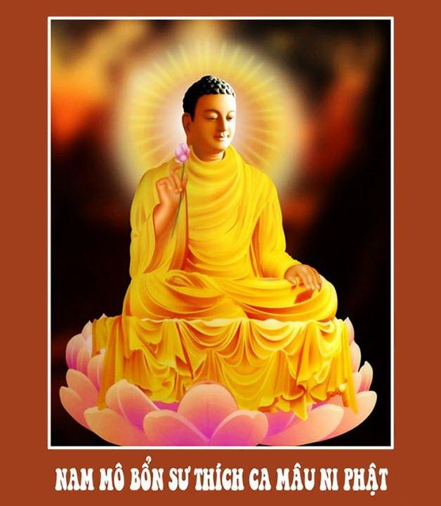 Hình ảnh Đức Phật Thích Ca đẹp