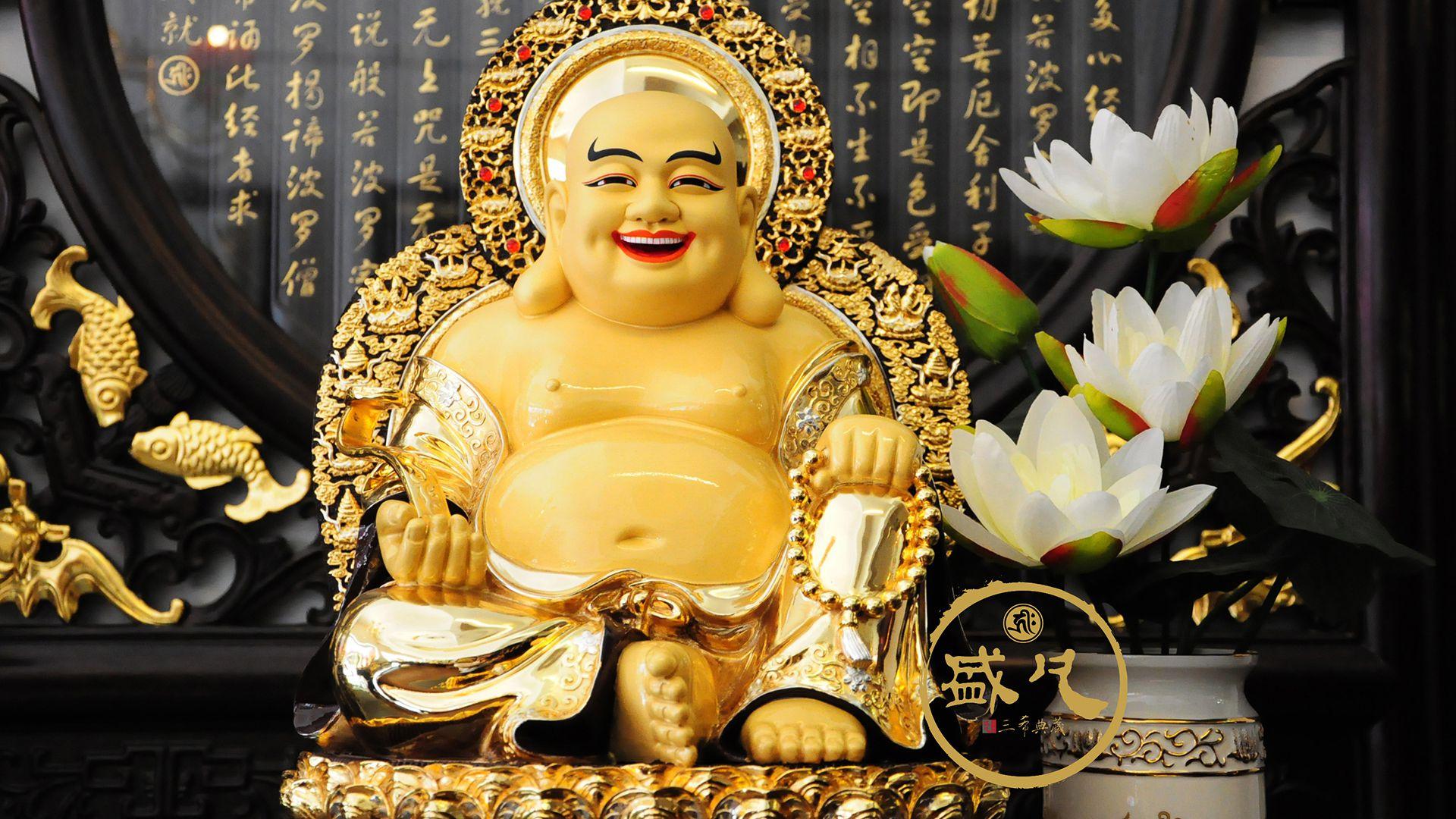 Hình ảnh ông Phật Di Lặc