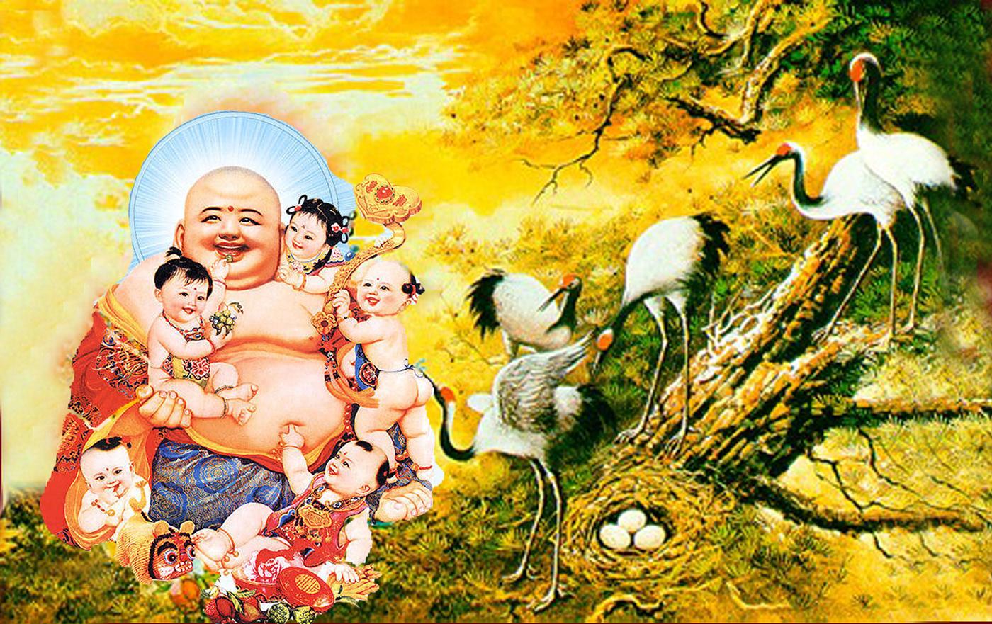 Hình ảnh Phật Di Lặc đẹp (2)