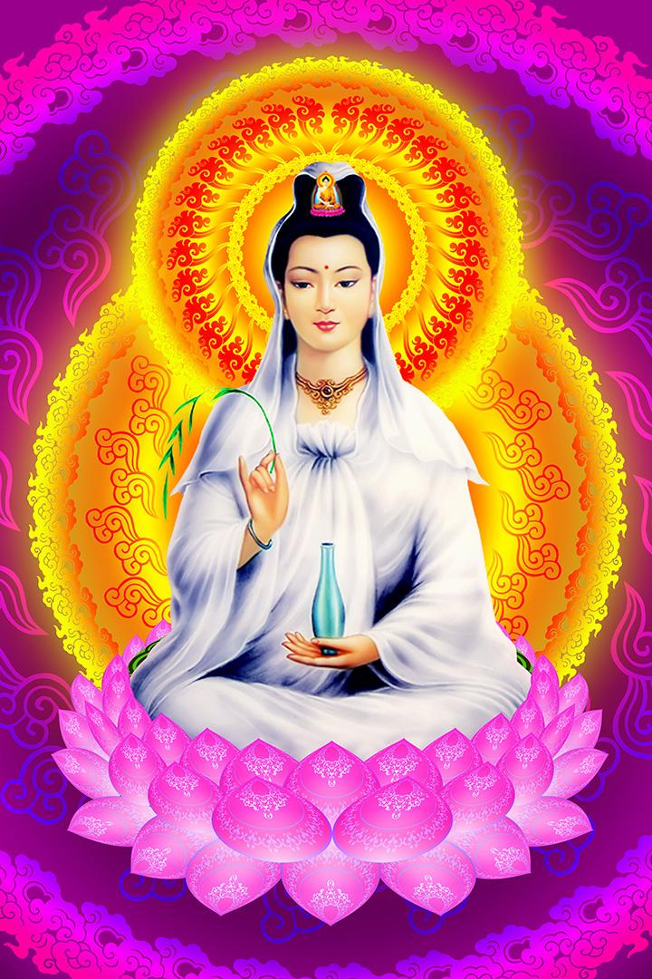 Hình ảnh Phật Quan Thế Âm Bồ Tát cực đẹp