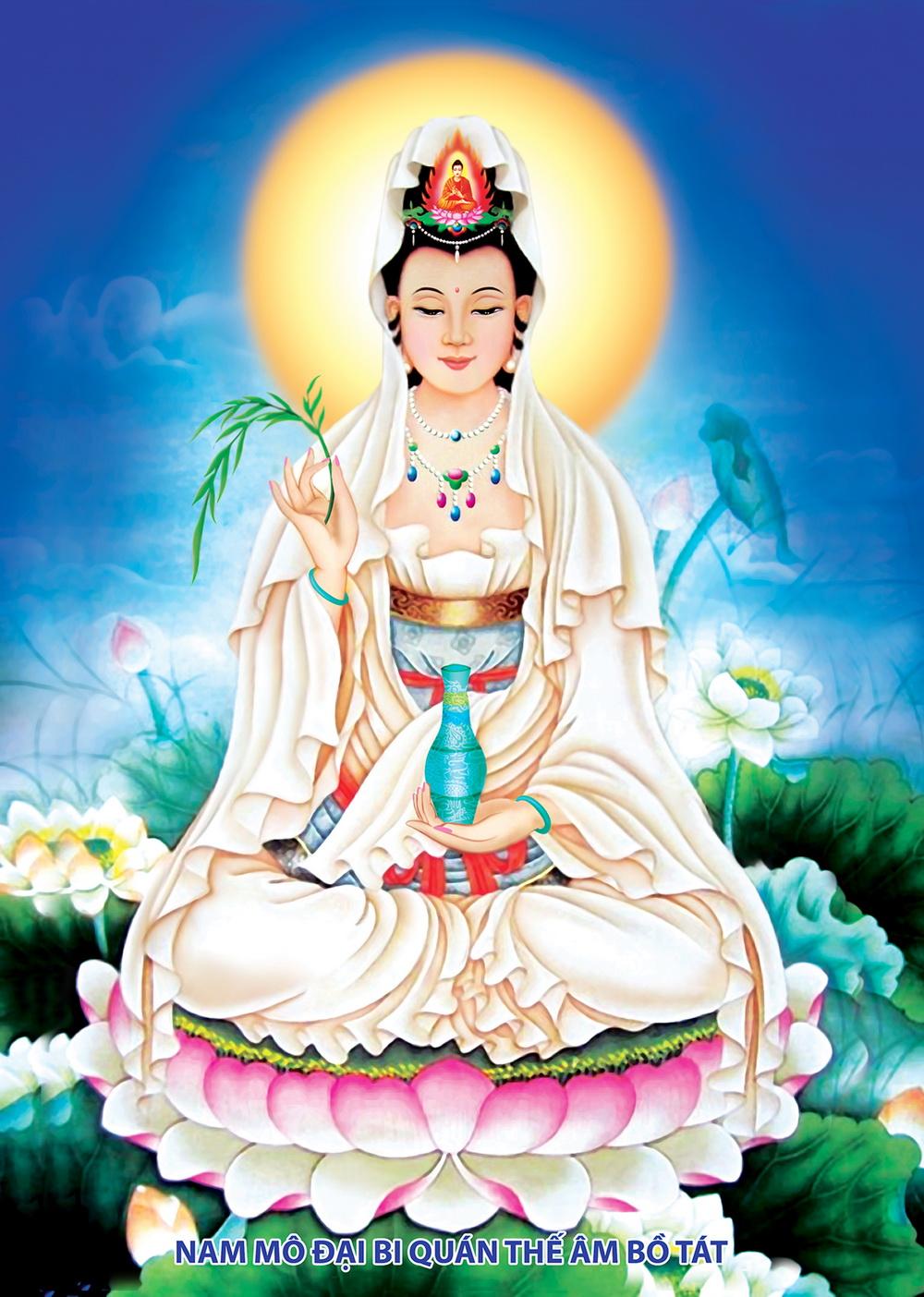 Hình ảnh Phật Quan Thế Âm Bồ Tát đẹp