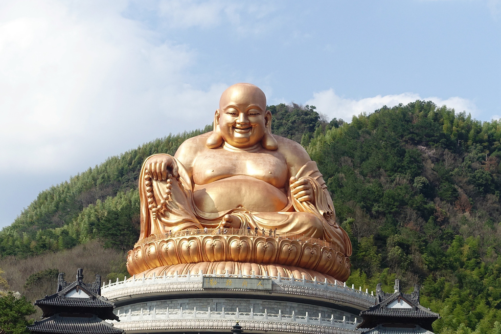 Hình ảnh tượng Phật Di Lặc đẹp
