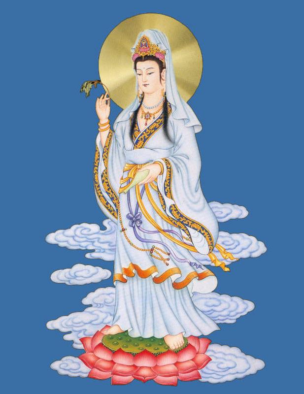 Hình Phật Quan Thế Âm Bồ Tát