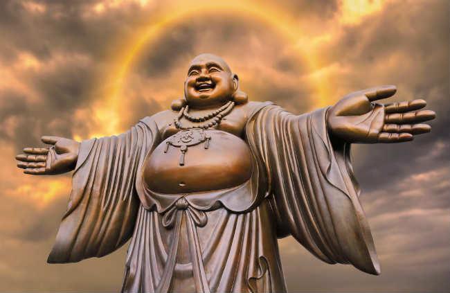 Phật Di Lặc đẹp nhất