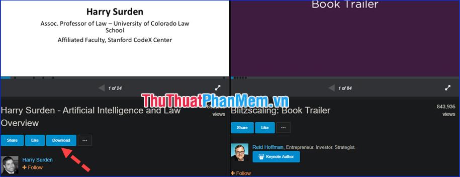 Cách Download tài liệu từ Slideshare cực dễ