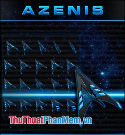 Trỏ chuột 3D Azenis