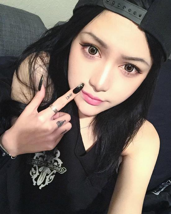 Ảnh hot girl Trung Quốc xinh như búp bê