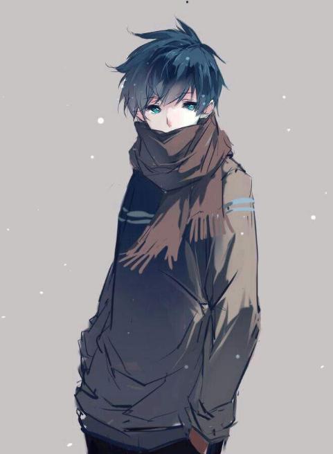 Hình ảnh Anime Boy dễ thương lạnh lùng