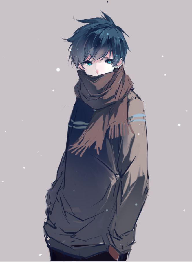 Hỉnh ảnh Anime Boy lạnh lùng vô cảm đẹp nhất