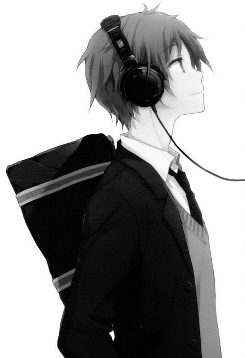Hình ảnh Anime Boy ngầu cực chất