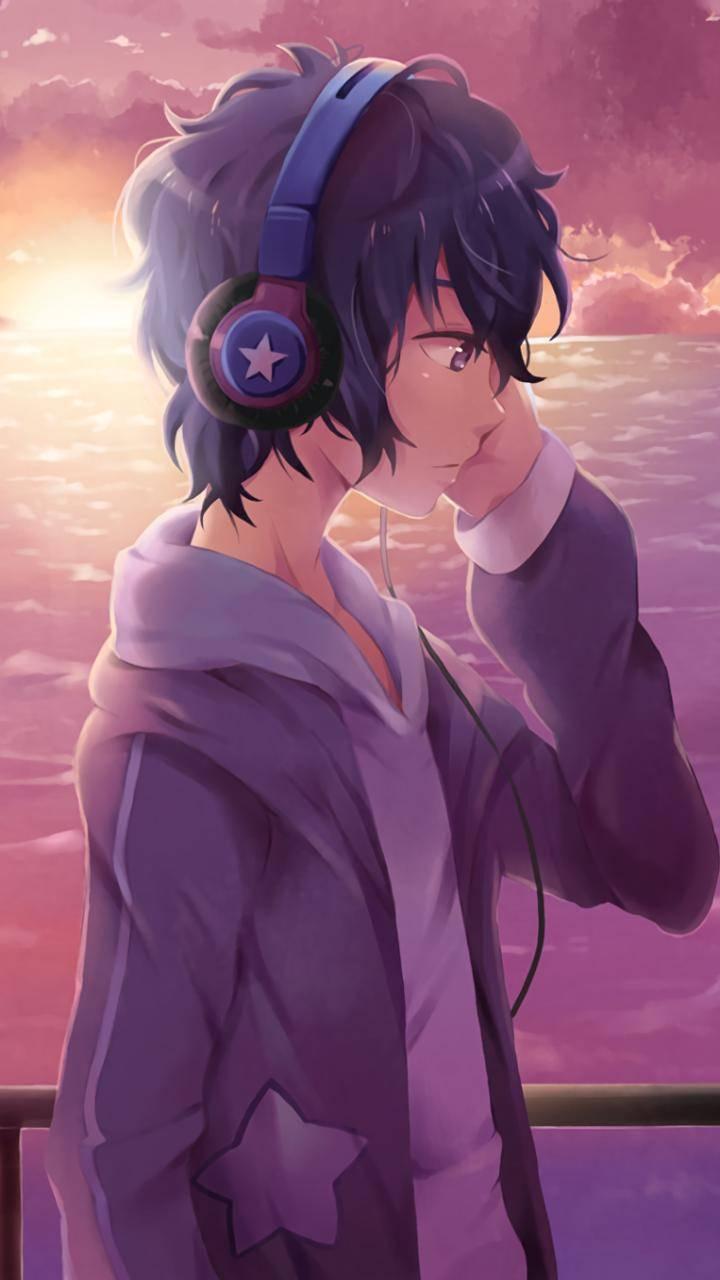 Hình ảnh Anime Boy vô cảm