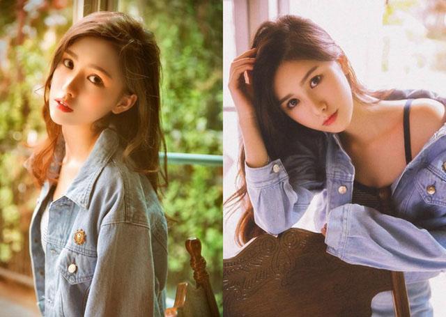 Hình ảnh hot girl Trung Quốc gợi cảm