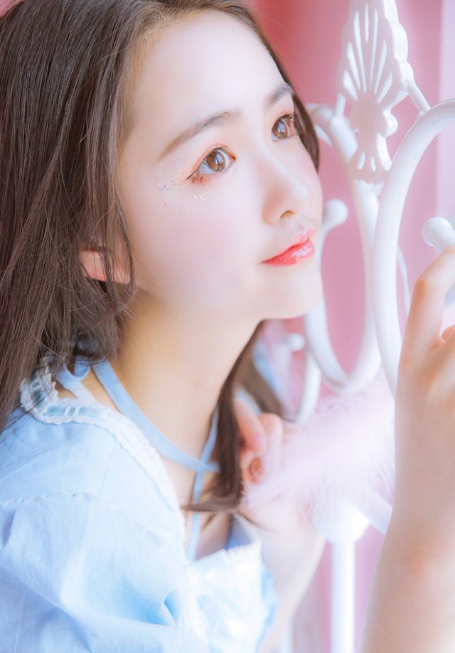 Hình ảnh hot girl Trung Quốc xinh như thiên thần