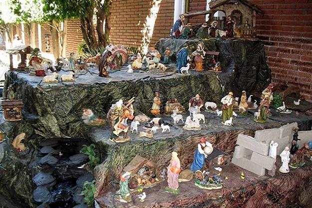 Những mẫu hang đá Noel đẹp