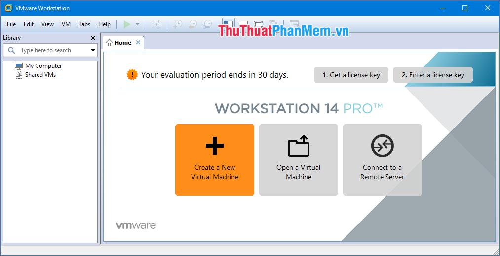 Sử dụng VMware Workstation