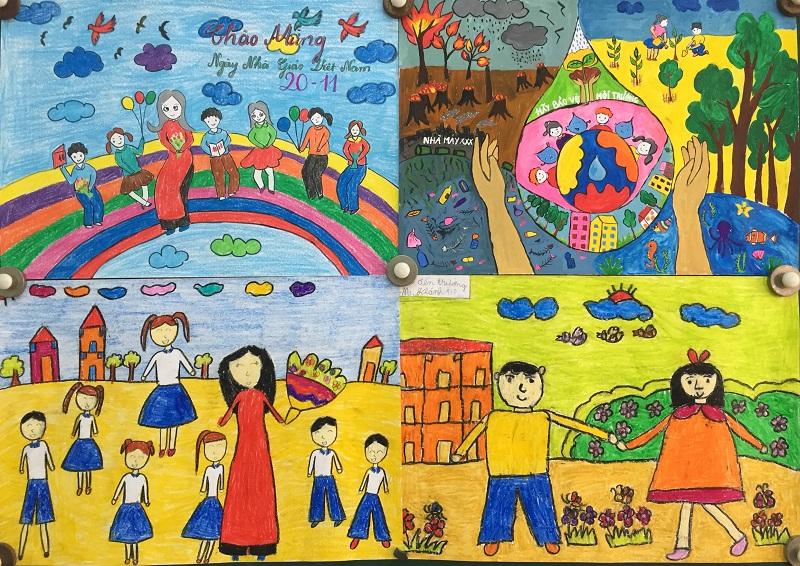 Tranh vẽ 20-11