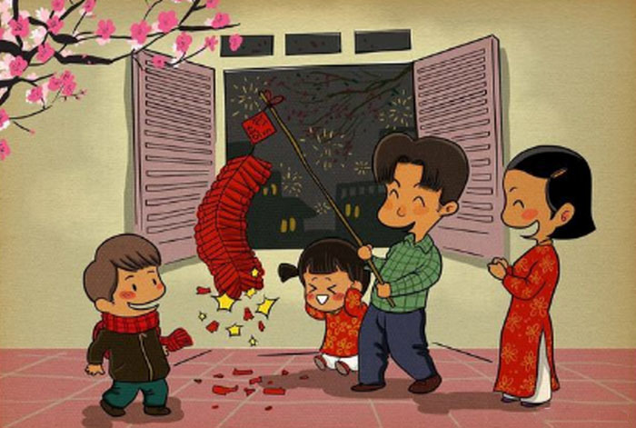 Vẽ tranh gia đình vui nhộn