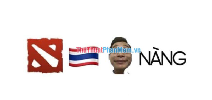 Game DOTA2 cũng như đội tuyển Thái Lan