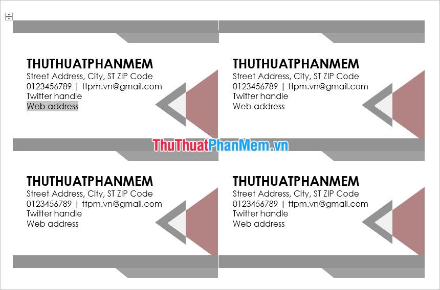 Thay đổi về font chữ cỡ chữ và màu sắc