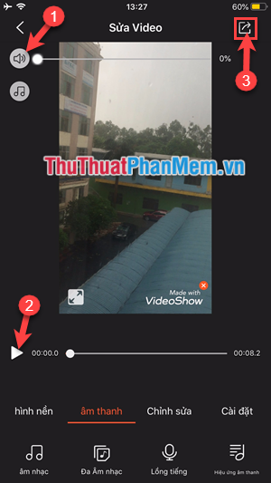 Giao diện Video