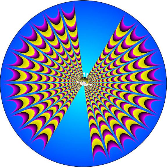 Những loạt ảnh gây ảo giác chuyển động 7