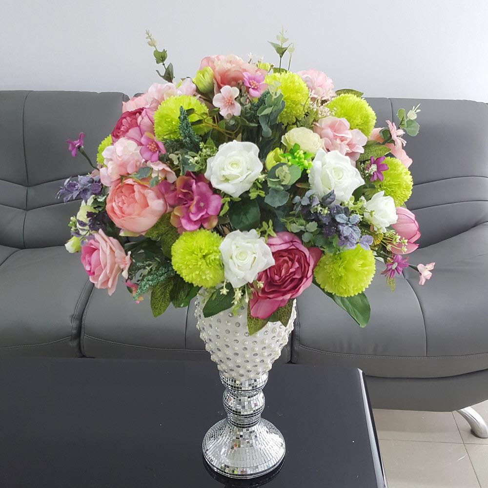 Bình hoa giả để bàn đẹp